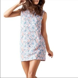 Onia floral summer swim cover up dress  size M